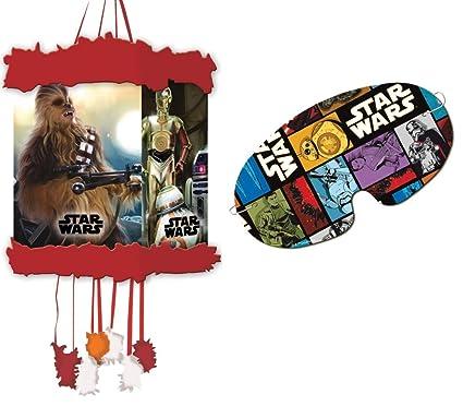 Star Wars- Piñata viñeta, 20 x 30 cm (Verbetena 014000860)
