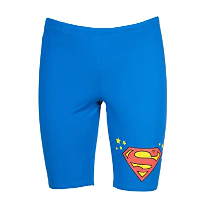 .com : Arena Men's Wb Superman MaxLife Jammer Swimsuit : Clothing