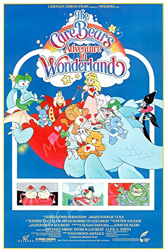 MCPosters The Care Bears Adventures In Wonderland Carebear GLOSSY FINISH Movie Poster - MCP161 (16