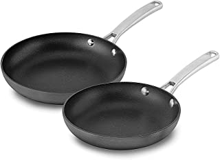 product image for Calphalon 2 Piece Classic Nonstick Frying Pan Set, Grey