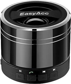 EasyAcc Mini Altavoz Bluetooth Portátil Recargable con Micrófono ...