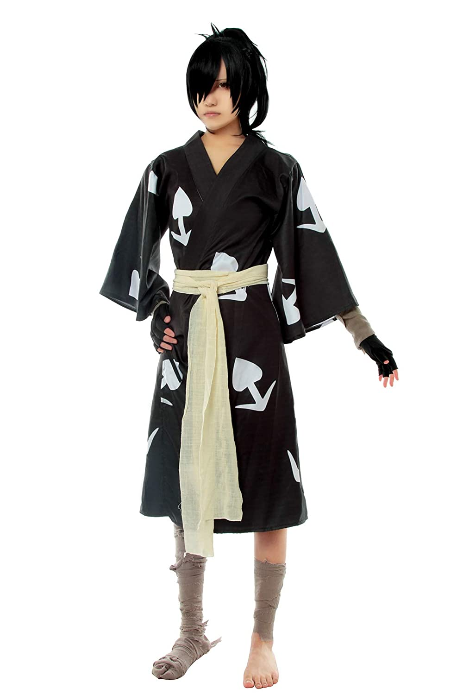 Amazon.com: ROLECOS Hyakkimaru Cosplay Costume Dororo Kimono ...