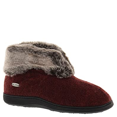 3b29e776a69 Image Unavailable. Image not available for. Color  Acorn Women s Chinchilla  Bootie ...