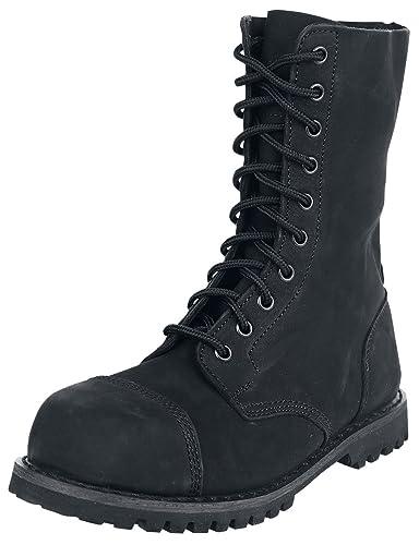 Brandit Herren Phantom Boots 10 Eye Nubuk, Color:schwarz;Größe:7