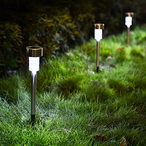 """Képtalálat a következőre: """"solar lights compact led landscape lights lawn lights with efficient solar panel, inbuilt battery, ip44 waterproof, 5 pcs"""""""