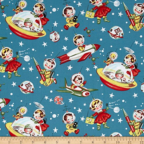 Rocket Red Fabric - 1
