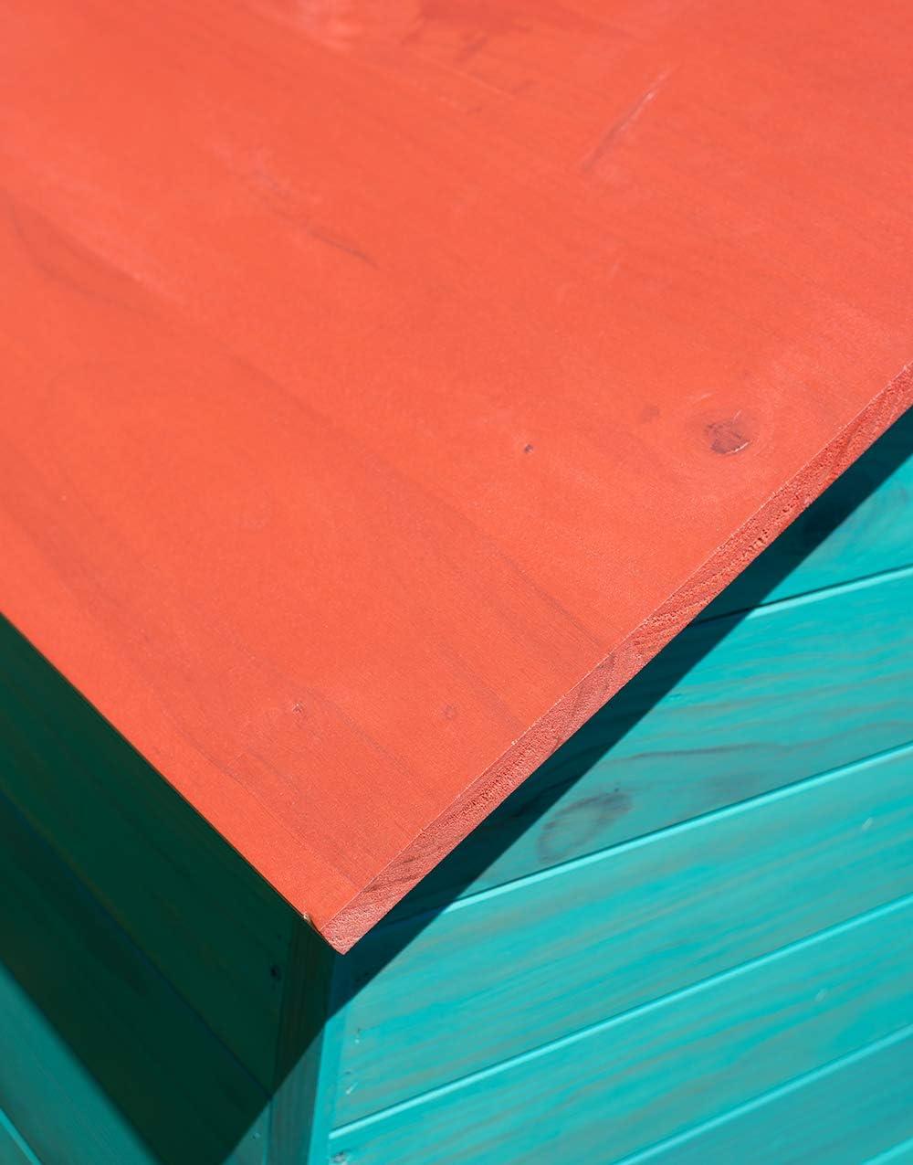 Luminos - Protector para acabado de manchas de madera al aire libre (1 QT, coral vivo): Amazon.es: Bricolaje y herramientas