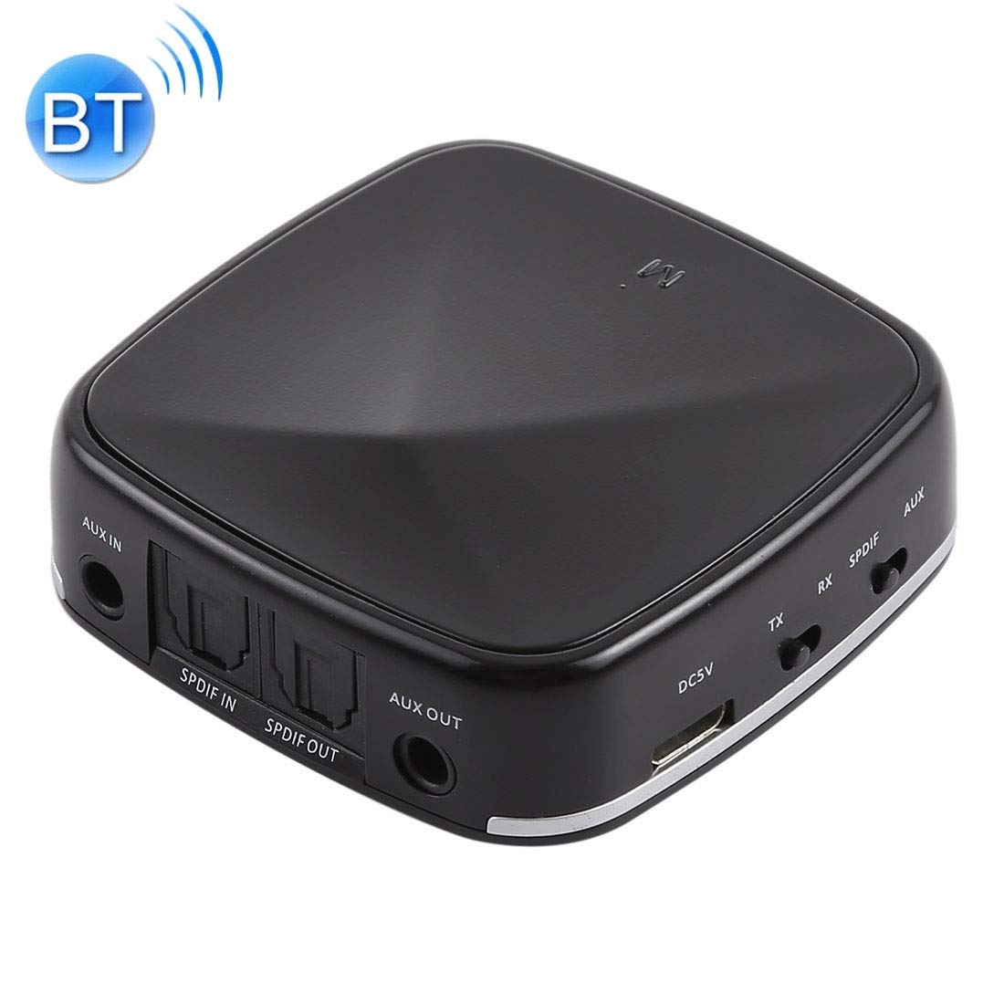 Optical Cables, JRBC03 2 in 1 Toslink/SPDIF Optical Bluetooth Audio Receiver Transmitter Adapter