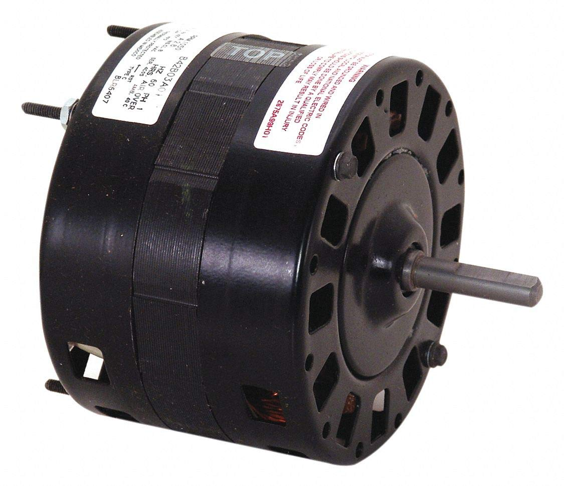 Century 1/15 HP Direct Drive Blower Motor, Shaded Pole, 1050 Nameplate RPM, 115 Voltage, Frame 42Y