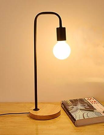 CJSHV-Lámpara de mesa Luz Calida Sencillo Nordico Boda Romantica ...