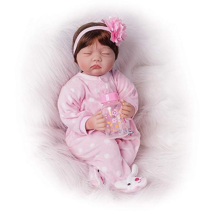 Amazon.com: Dormir Reborn Baby Doll Chica Que parezca real ...