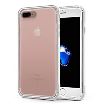 OMOTON Funda iPhone 7 Plus, Carcasa iPhone 7 Plus Case,USA ...