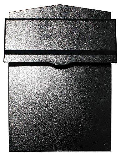 Qualarc LIB-BL-LM6-810 Liberty Rear Access Locking Mailbox with 8
