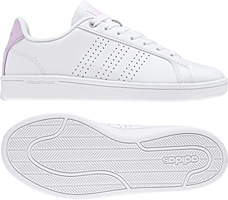 adidas Cloudfoam Advantage Clean, Sneakers Basses Femme