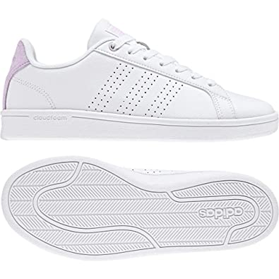 the best attitude 7e7ca 30333 adidas CF Advantage Cl, Chaussures de Fitness Femme, Blanc FtwblaAerorr  000,