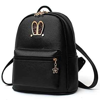 a5fcd84eac51 KaiSasi 2016 Spring Models Handbags Schoolbags Backpack(Black ...