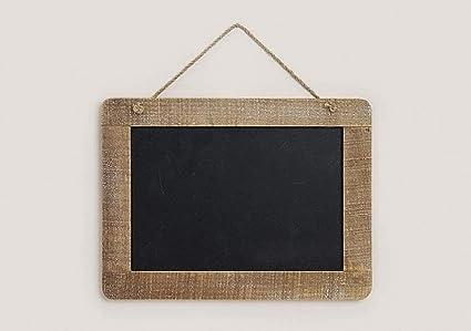 Memo Pizarra con marco de madera naturfarbenen, dimensiones ...