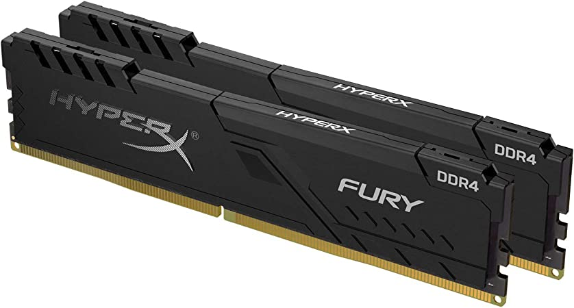 Hyperx Fury Black Hx432c16fb3k2 Computer Zubehör