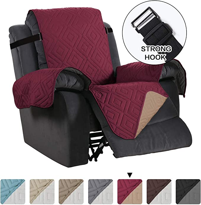 Oversized Large Recliner Cover, Sitting Width Up to 30