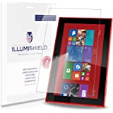 iLLumiShield - Nokia Lumia 2520 Screen Protector Japanese Ultra Clear HD Film with Anti-Bubble and Anti-Fingerprint – High Quality (Invisible) LCD Shield – Lifetime Replacement Warranty – [2-Pack] OEM / Retail Packaging