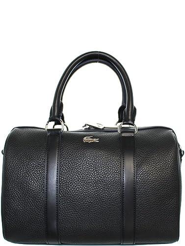 7a66adafa031b Lacoste – Handtasche Medium Boston Bag aus Leder