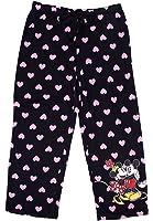 Disney Mickey & Minnie Mouse HEARTS Women Capri Pajama Pant