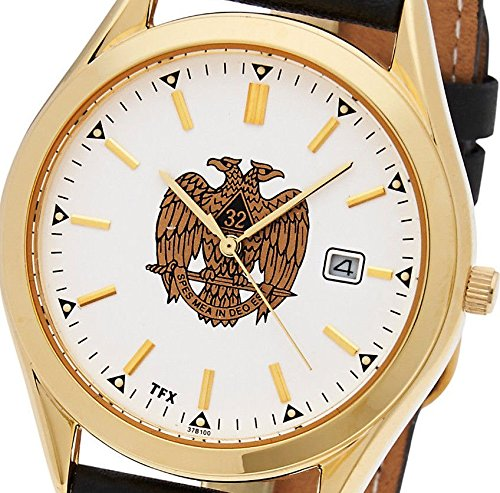 Masonic Scottish Rite Jewel - New Men's TFX by Bulova Freemason Masonic Scottish Rite Mason Quartz Watch