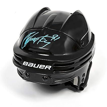 best website b9510 53334 Steven Stamkos Autographed Bauer 3500 Black Hockey Helmet ...