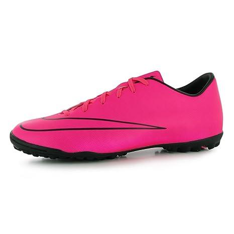 Nike Mercurial Victory Astro Turf fútbol Zapatillas para Hombre Zapatos de Color Rosa/Negro de