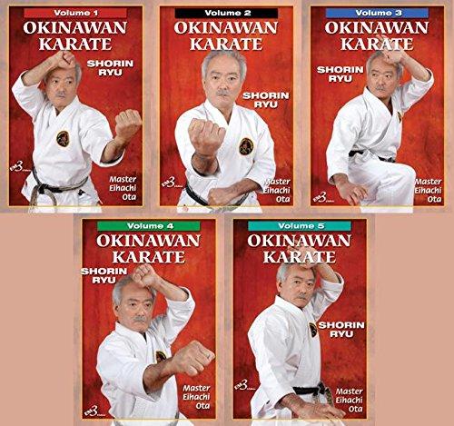 5 DVD SET Okinawan Shorin Ryu Karate 1-5 Kata Bunkai history fukyu pinan kusanku passai gojushiho by EM3