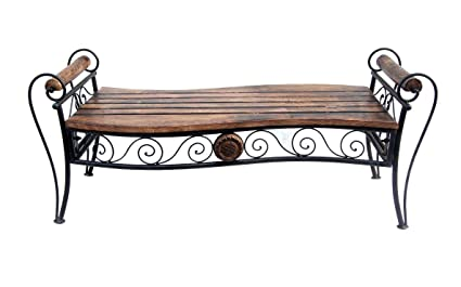 Acme Furniture Wrought Iron Wooden Diwan Amazon In Electronics