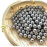 Hanchen Stainless Steel Grinding Balls Media Beads 250g LabBallMillGrindingMedia for Lab Planetary Ball Mill (3mm, 201)