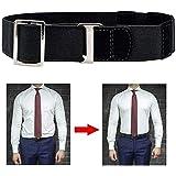 6 Styles Men Near Shirt-Stay Best Shirt Stays Black Tuck It Belt Shirt Tucked