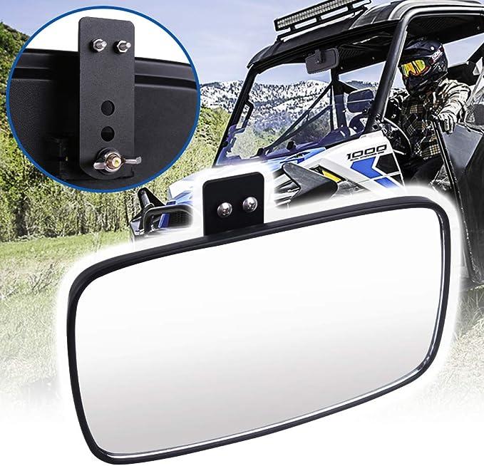 Moose Racing 0640-0386 UTV Inside//Outside Rear View Mirror