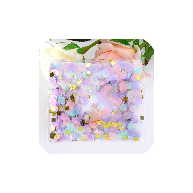 500g/1kg 1cm Round Confetti Party Table Confetti Baby Shower Wedding Birthday Party Decorations,Unicorn,1000g