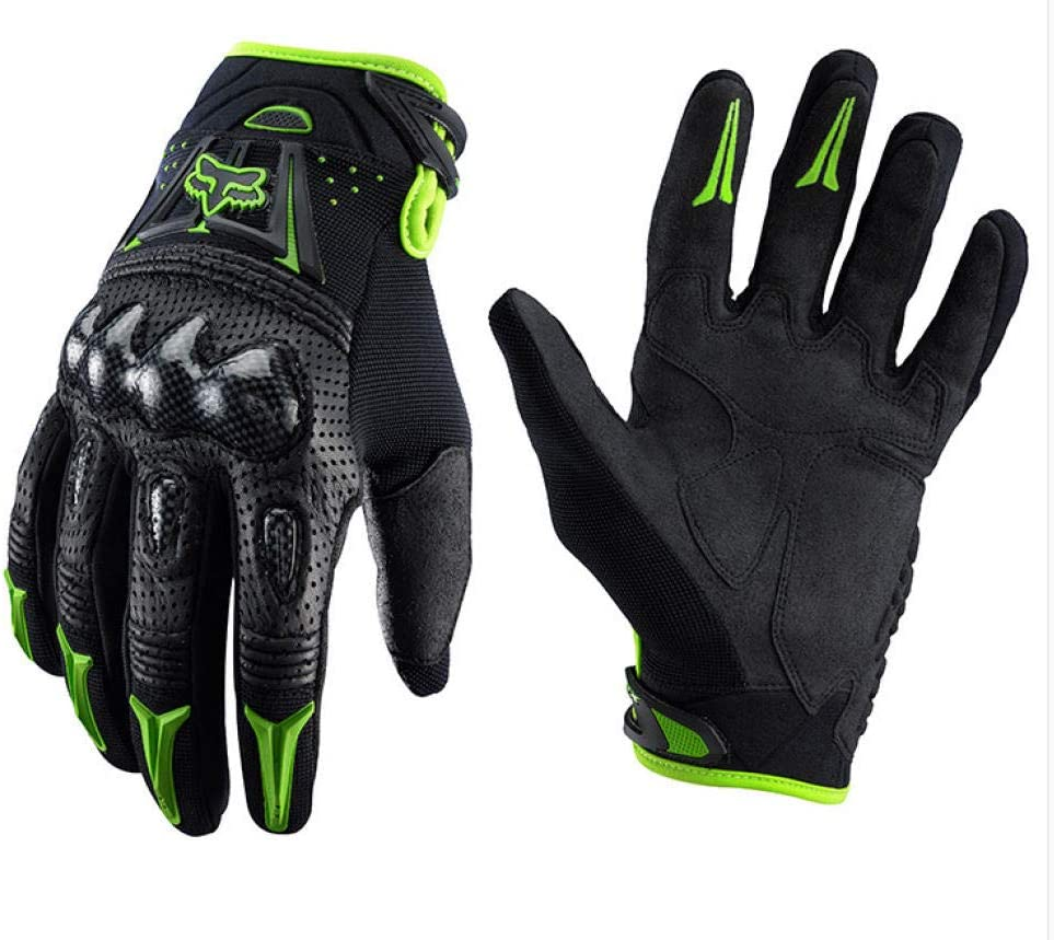 LxdGloves Motorrad Handschuhe Carbon Fiber Shell Hard Shell rutschfeste sto/ßfeste Outdoor-Offroad-Fahrrad Handschuhe