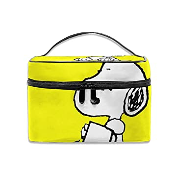 Cosmetic Bag Snoopy Peanuts Portable Travel     - Amazon com
