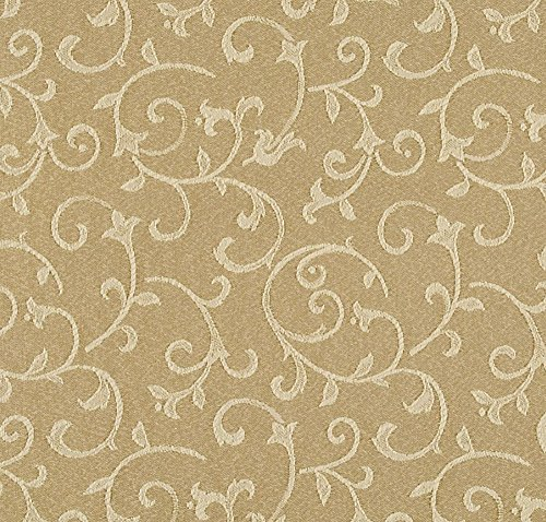 Luxury Damask Table (Lenox Opal Innocence Table Runner, Gold (14 x 70-in))
