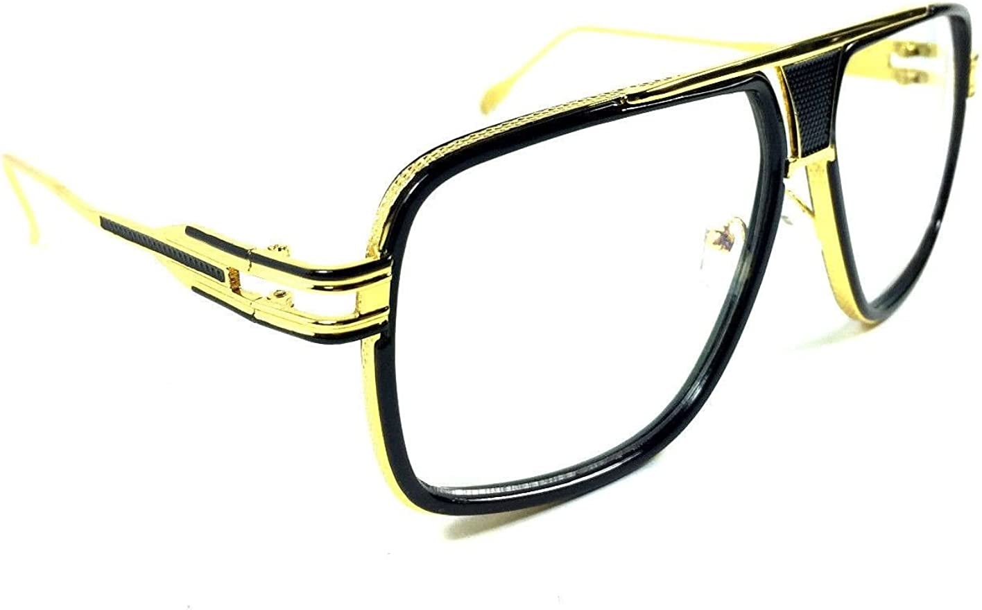 Gazelle Tycoon Aviator Sunglasses w/Multicolor Lenses