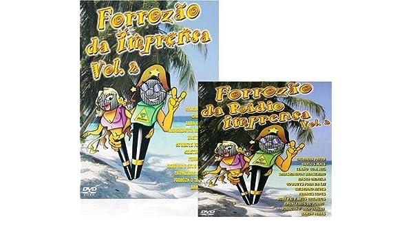 Forrozao da Radio Imprensa Vol 2 Dvd + Cd - Calcinha Preta / Calypso / Limao Com Mel / Rasta C: Amazon.es: Cine y Series TV