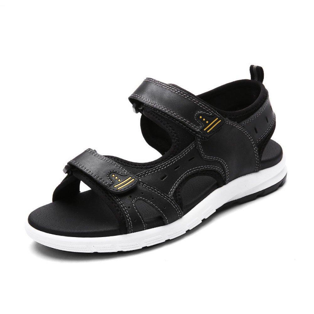 Sandalia Moda Transpirable Al Aire Libre Ocio Playa Zapatos 42 EU Black