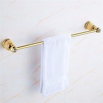 Hlluya Toallero Palanca única de mármol única Capa toallero Antiguo baño de latón de Toallas de baño, Adornos de Jade: Amazon.es: Hogar