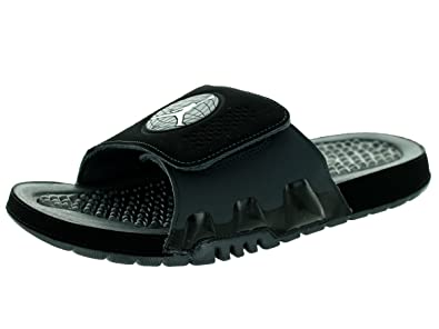 nouveau concept 0c33f 3eaa2 Jordan Hydro IX Retro US 11 Sandales pour Homme Noir: Amazon ...