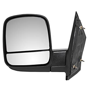 Drivers Manual Side View Mirror W Dual Glass Replacement For Chevrolet Express GMC Savana Van 20838065 AutoAndArt