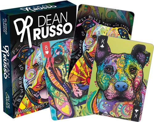 Dog Playing Cards - Aquarius Dean Russo Dogs Playing Cards Playing Cards