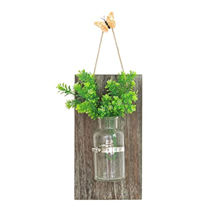 Janicestyle Hanging Planter Vase A Hydroponic Container In The Wall  Ornamental Vases Used In