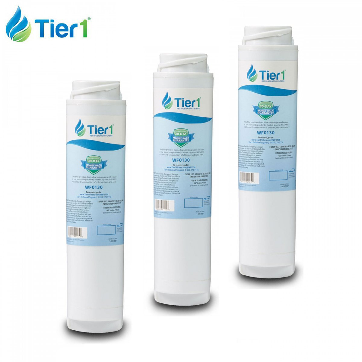 amazoncom tier1 ge gxrlqr comparable inline water filter replacement 3 pack home improvement