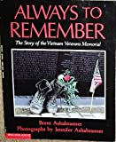 Always to Remember, Brent K. Ashabranner, 0590445901