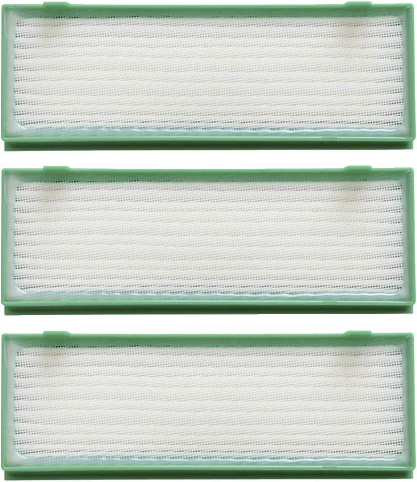 3 filtros Hepa para aspiradoras Vorwerk Kobold VR 200, VR 300 ...