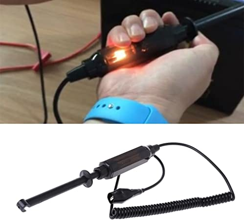 Car Truck Voltage Circuit Tester 6V//12V//24V DC Hook Probe Test Light Pencil 25cm